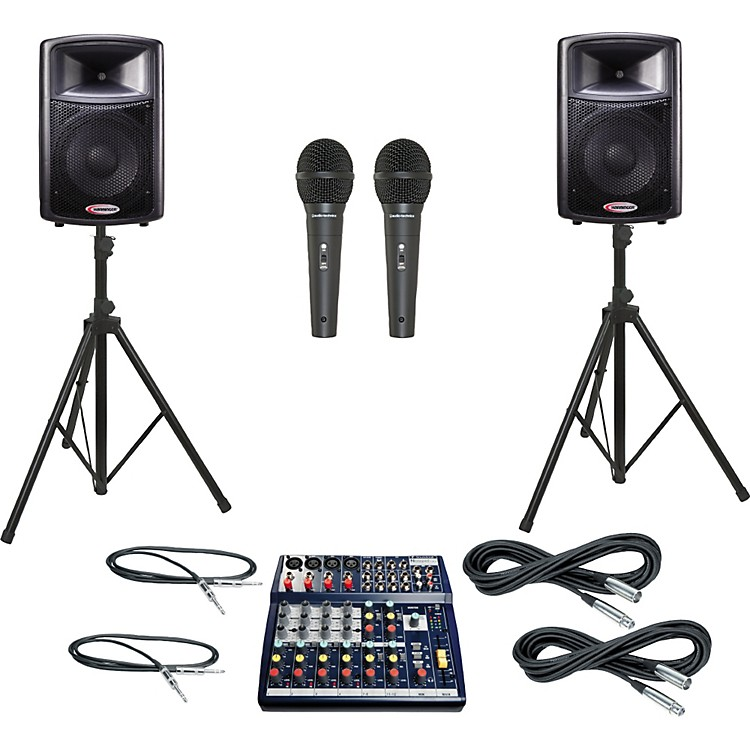Soundcraft Notepad 124 / APS12 PA Package