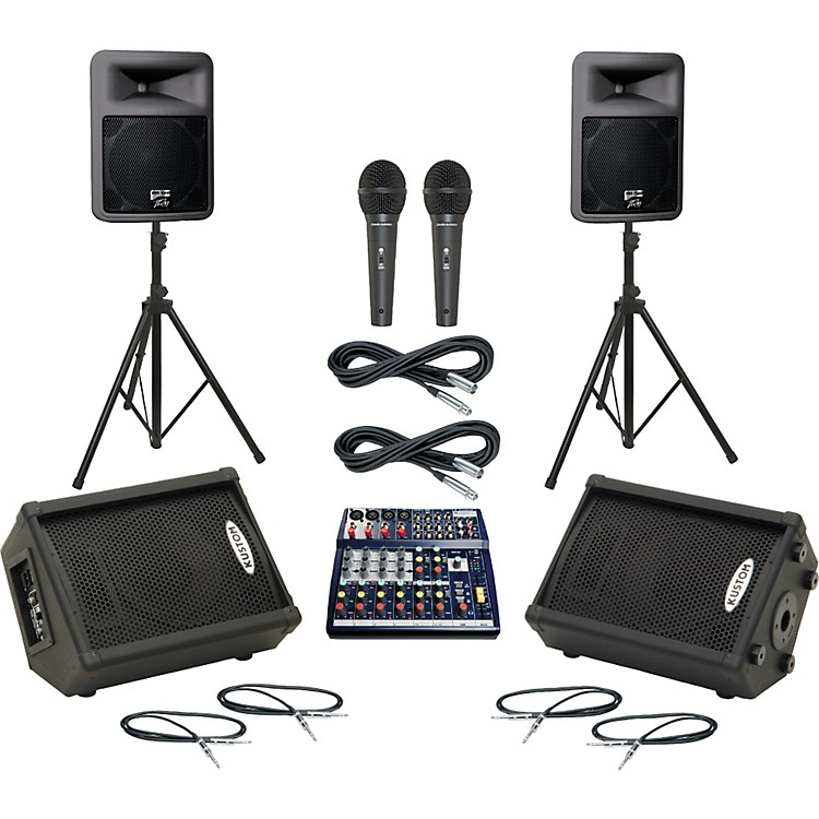 SoundcraftNotepad 124 / PR12D Mains & Monitors Package