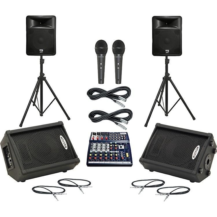 SoundcraftNotepad 124 / PR15D Mains & Monitors Package