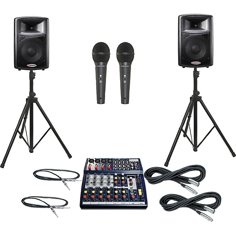 Soundcraft Notepad 124FX / APS12 PA Package