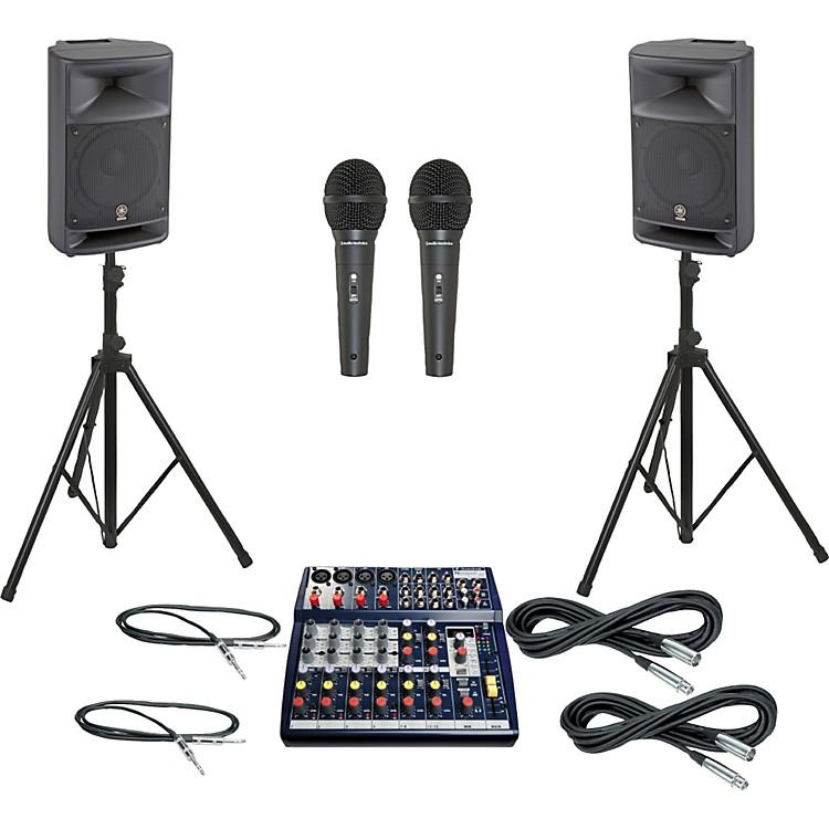 SoundcraftNotepad 124FX / MSR250 PA Package