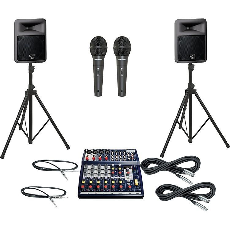 SoundcraftNotepad 124FX / PR12D PA Package