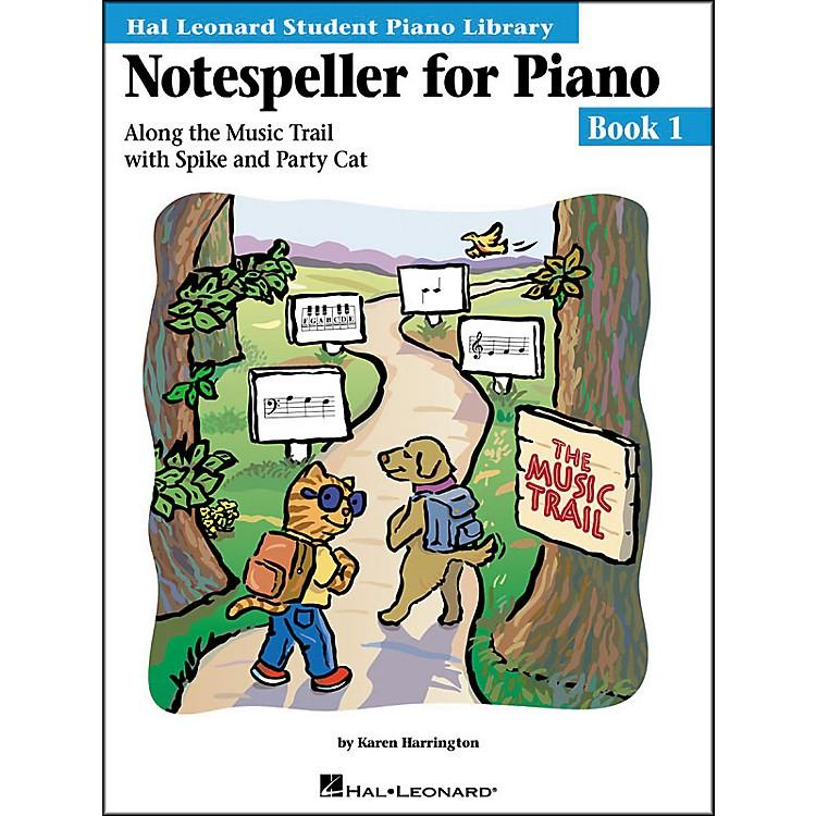 Hal LeonardNotespeller For Piano Book 1 Hal Leonard Student Piano Library