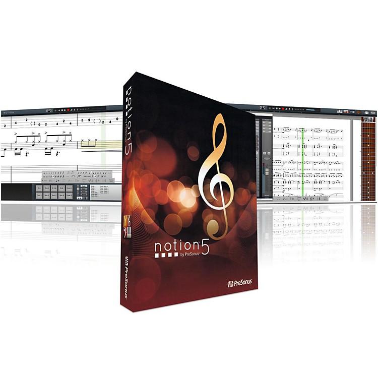 PreSonusNotion 5 Music Notation Software