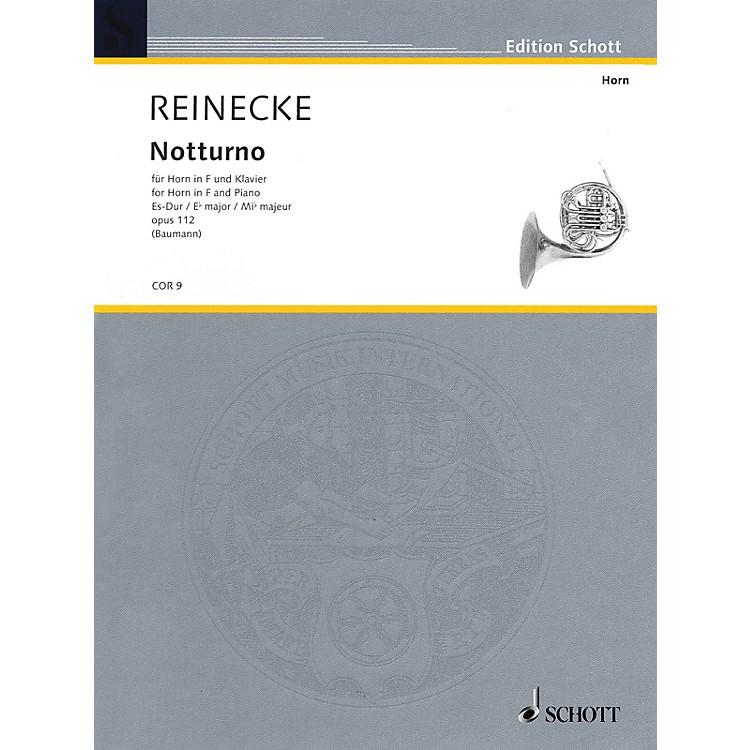 SchottNotturno Op. 112 (Horn and Piano) Schott Series Softcover