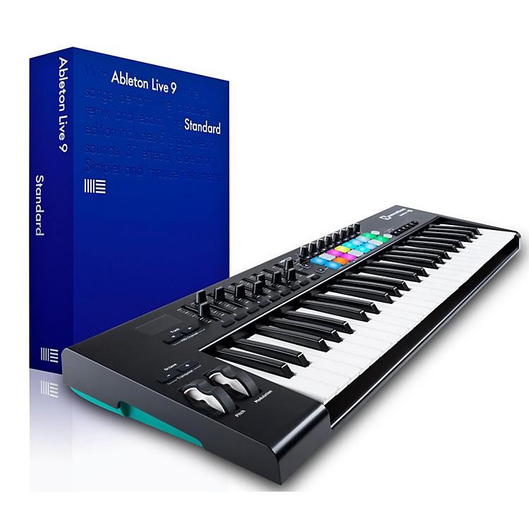 NovationNovation Launchkey 49 MIDI Controller with Ableton Live 9.5 Standard