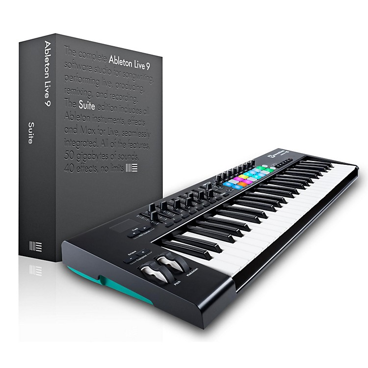 NovationNovation Launchkey 49 MIDI Controller with Ableton Live 9.5 Suite