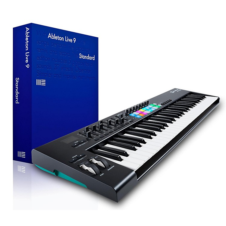 NovationNovation Launchkey 61 MIDI Controller with Ableton Live 9.5 Standard