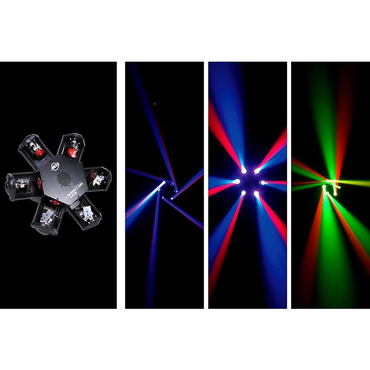 American DJNucleus LED - 6-Head Scanning Centerpiece Effect