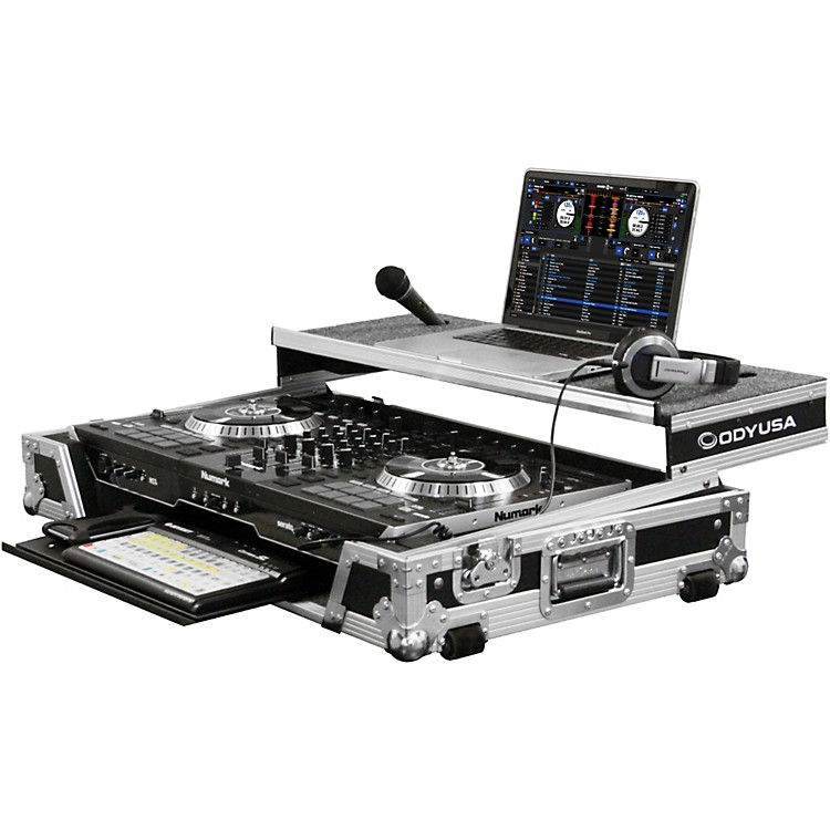 Odyssey Numark NS7II DJ Controller Glide Style Case With Lower Glide Tray  888365035383