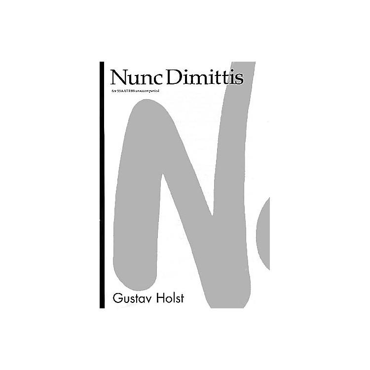 NovelloNunc Dimittis SATB Composed by Gustav Holst Arranged by Desmond Ratcliffe