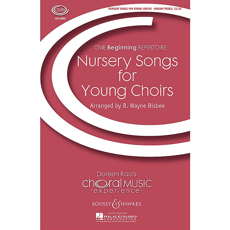 Boosey and Hawkes Nursery Songs for Young Choirs (CME Beginning) UNIS arranged by B. Wayne Bisbee