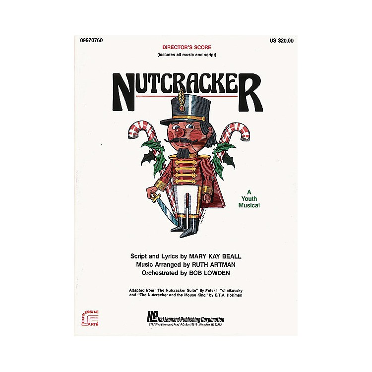 Hal Leonard Nutcracker (A Holiday Musical) ShowTrax CD Arranged by Ruth Artman