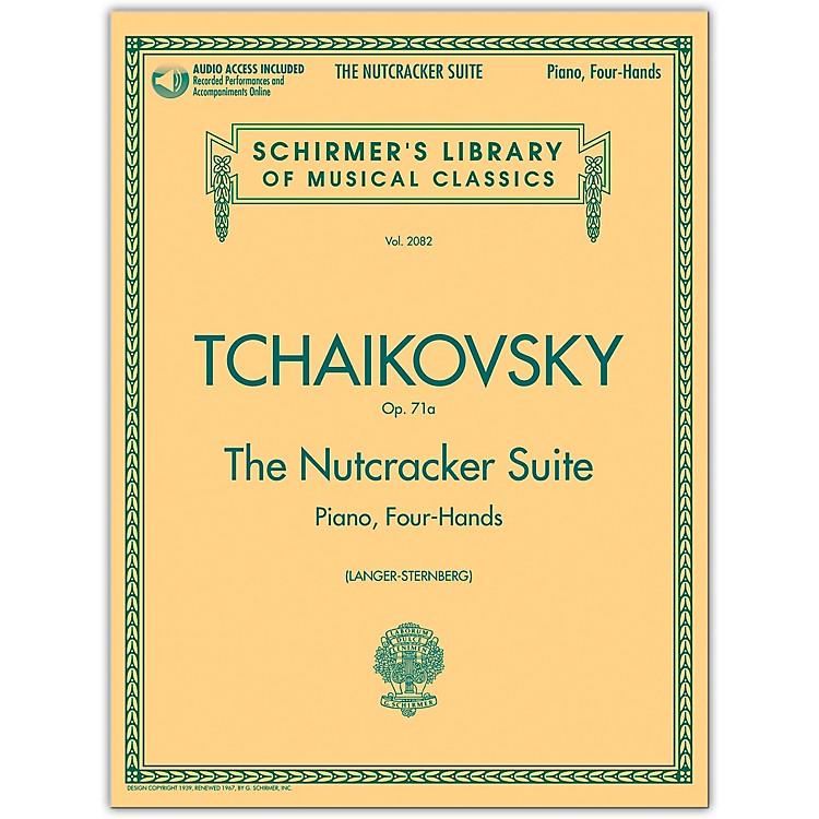 G. SchirmerNutcracker Suite 1 Piano/ 4 Hands Schirmer Library Book/Online Audio