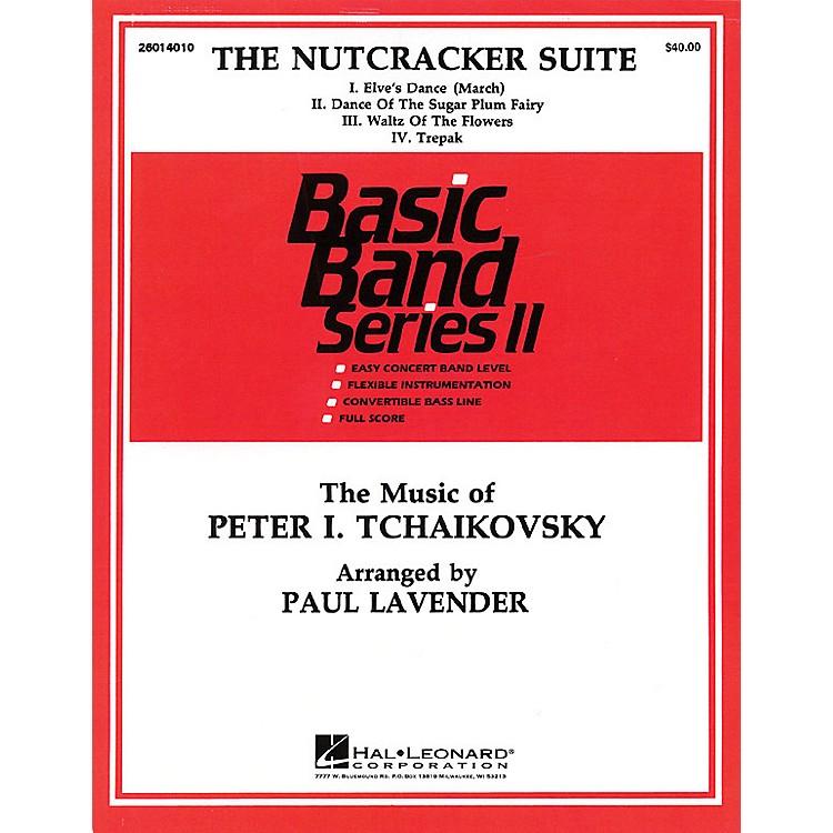 Hal LeonardNutcracker Suite Concert Band Level 2 Arranged by Paul Lavender