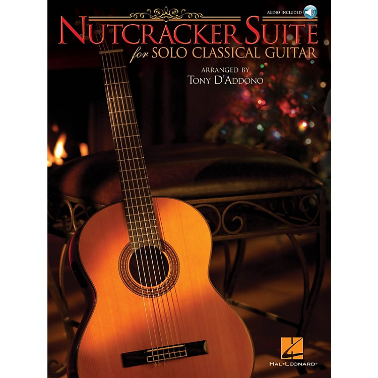Hal LeonardNutcracker Suite for Solo Classical Guitar Guitar Solo Series Softcover with CD
