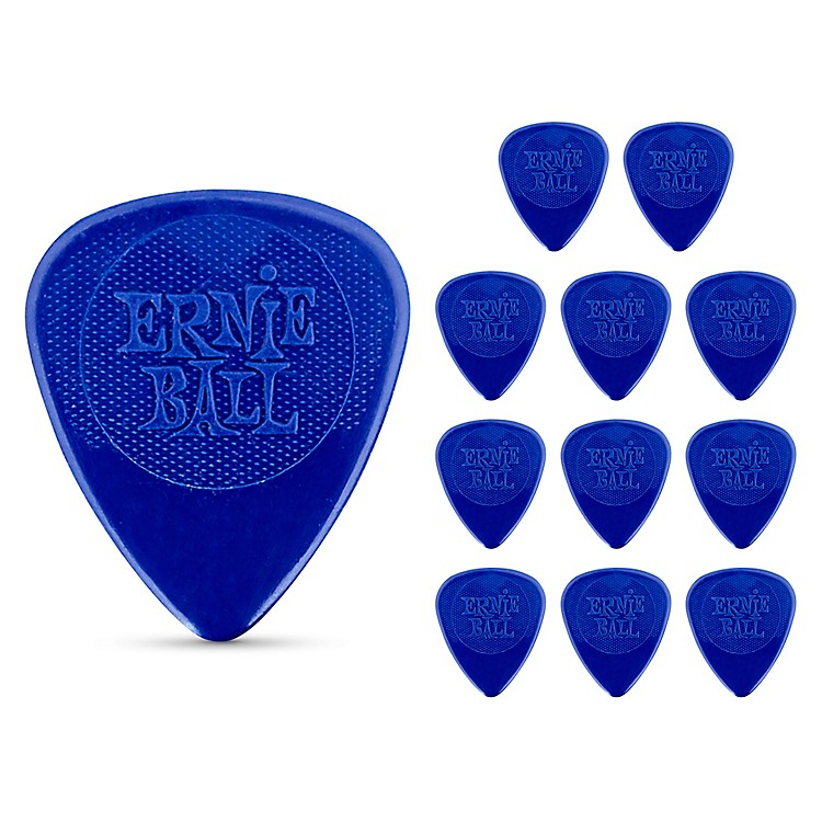 Ernie Ball Nylon Guitar Picks Medium 1 Dozen
