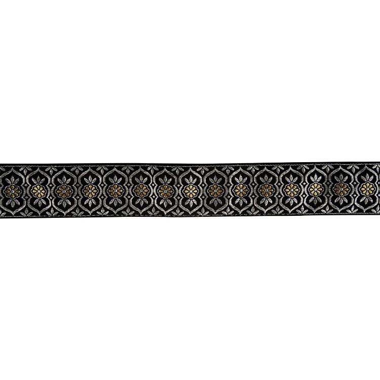 FenderNylon Jacquard Guitar StrapSatin Black Diamond2 in.
