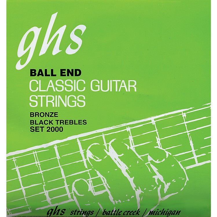 GHSNylon and Phosphor Bronze Classical Guitar Ball End Strings