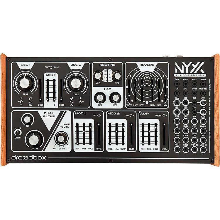 DreadboxNyx V2 Duophonic Analog SynthesizerBlack