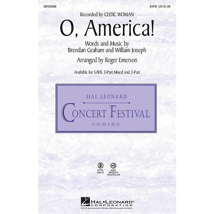 Hal LeonardO, America! 3-Part Mixed Arranged by Roger Emerson