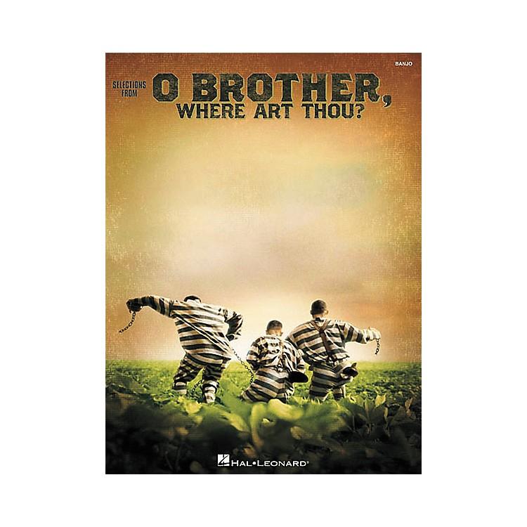 Hal LeonardO Brother, Where Art Thou? Banjo Book
