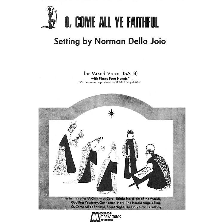 Edward B. Marks Music CompanyO Come All Ye Faithful (SATB, piano 4 hands)