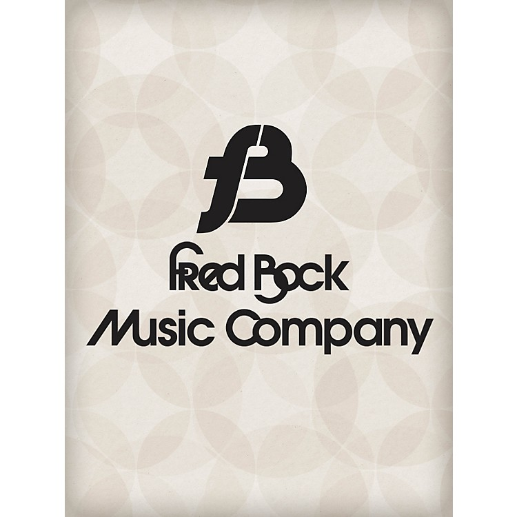 Fred Bock Music O Let Your Soul Now Be Filled with Gladness SATB a cappella Arranged by Fred Bock