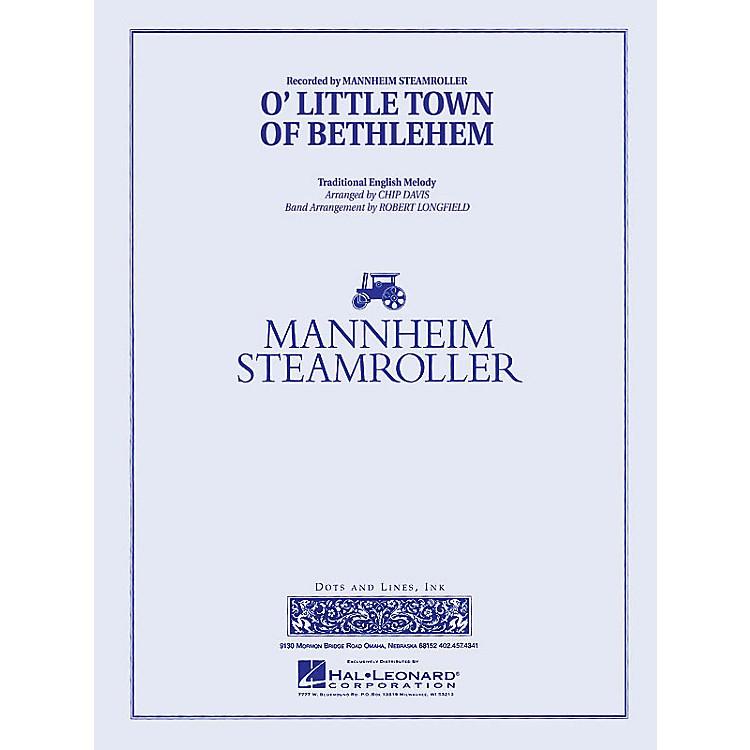 Mannheim SteamrollerO Little Town of Bethlehem Concert Band Level 3 Arranged by Robert Longfield