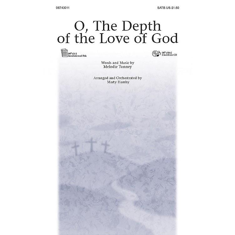 PraiseSongO, the Depth of the Love of God (I-Pak (Full Orchestra)) IPAKO Arranged by Marty Hamby
