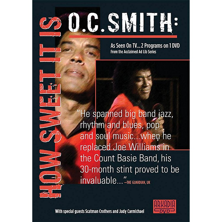 Hal LeonardO.C. Smith - How Sweet It Is (Visions of Jazz Series) DVD Series DVD Performed by O.C. Smith