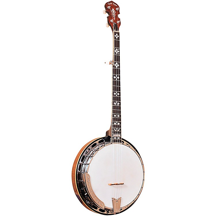 Gold ToneOB-250+ Professional Bluegrass Banjo For Left Hand PlayersVintage Brown