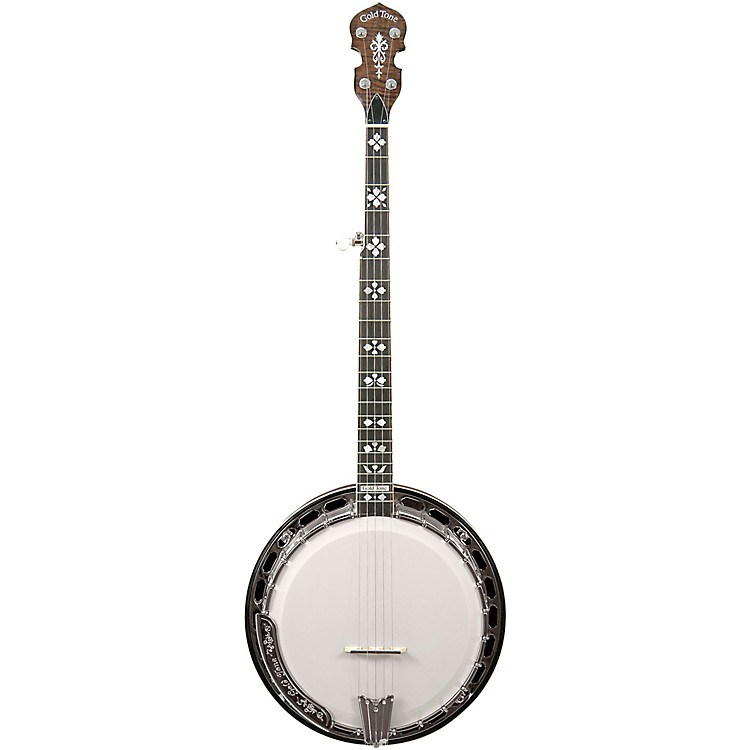 Gold Tone OB-250AT Professional Archtop Bluegrass Banjo Vintage Brown