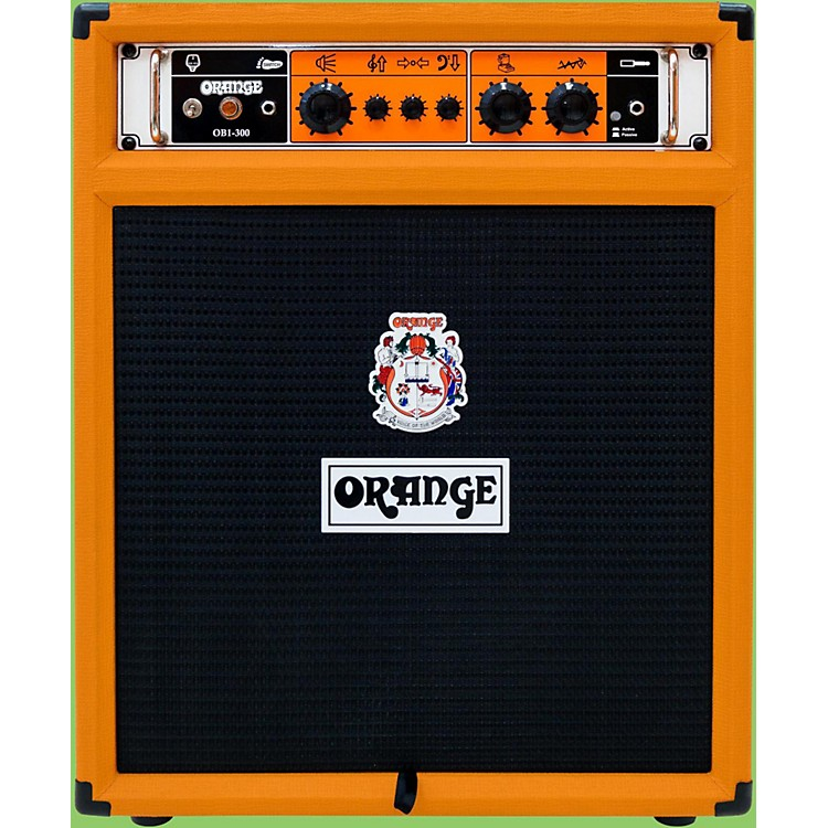 Orange Amplifiers OB1-300-Combo Bass Amplifier Orange