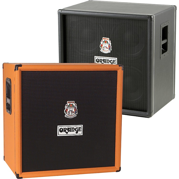 Orange Amplifiers OBC Series OBC410 600W 4x10 Bass Speaker Cabinet Orange 190839900852
