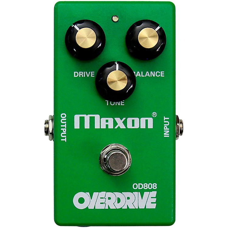 Maxon OD808E Limited-Edition 40th-Anniversary EarthQuaker Mod Overdrive Effects Pedal