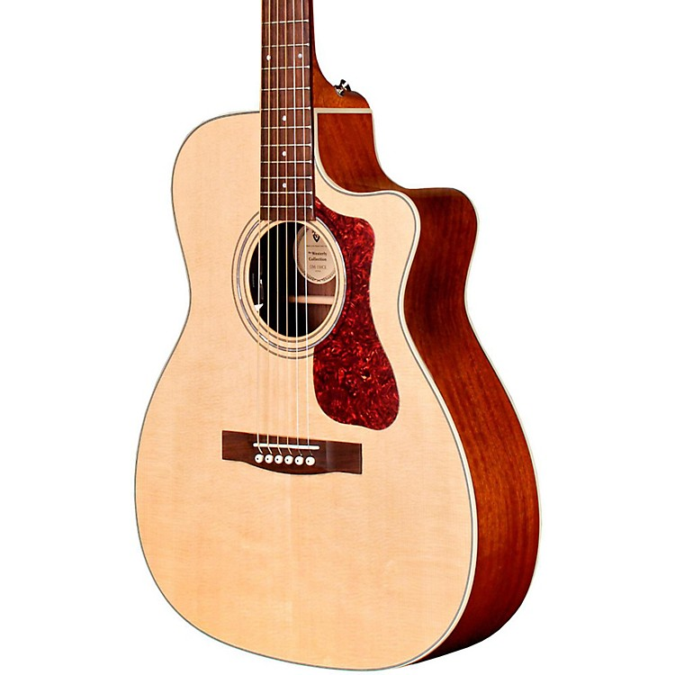 Guild OM-140CE Acoustic-Electric Guitar Natural