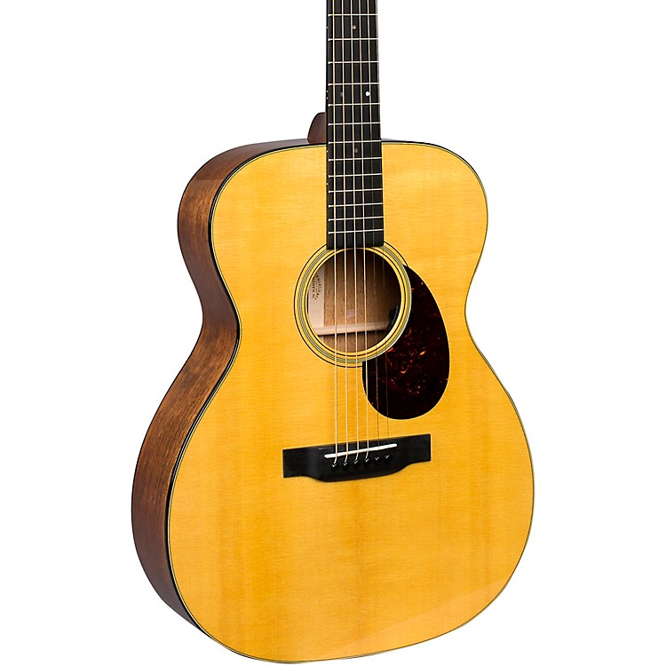 MartinOM-18E Orchestra Model Acoustic-Electric with Fishman ElectronicsGloss Natural