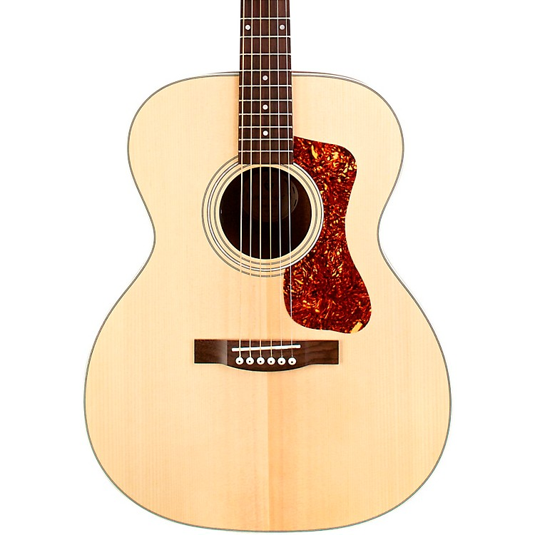 Guild OM-240E Orchestra Acoustic-Electric Guitar Natural