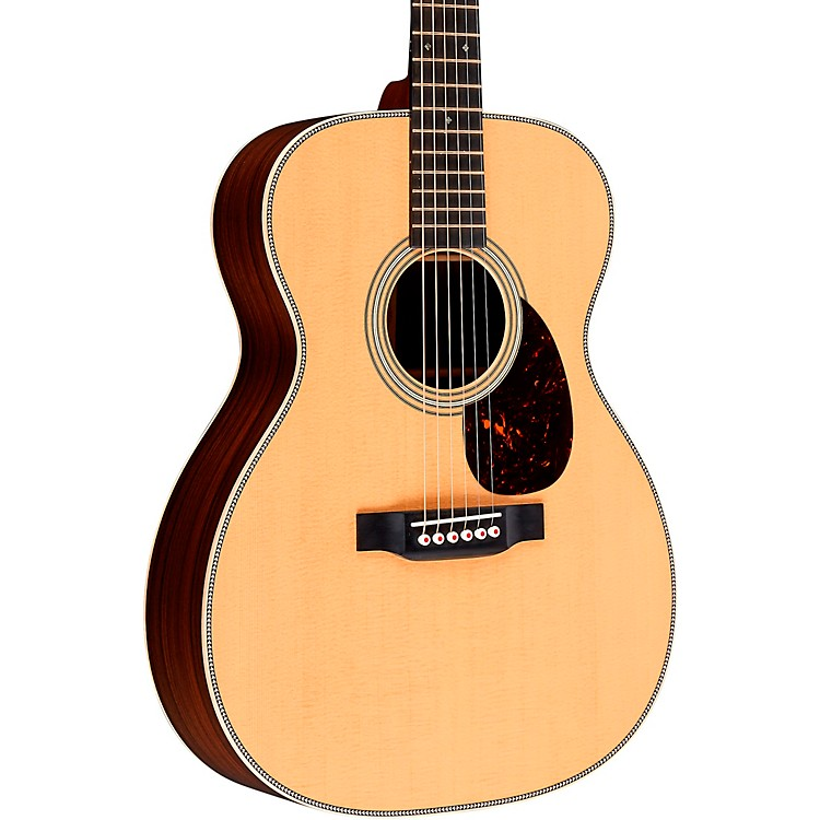 MartinOM-28 Modern Deluxe Orchestra Acoustic GuitarNatural
