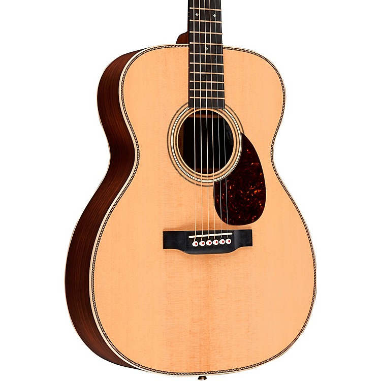 Martin OM-28E Modern Deluxe Orchestra Acoustic-Electric Guitar Natural