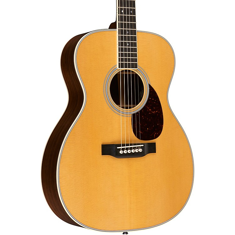 Martin OM-35E Standard Orchestra Model Acoustic-Electric Guitar Aged Toner