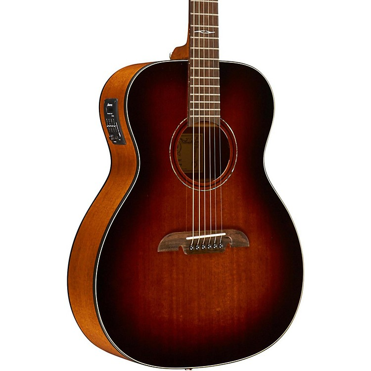 Alvarez OM Mahogany Top Acoustic Electric Guitar Shadow Burst