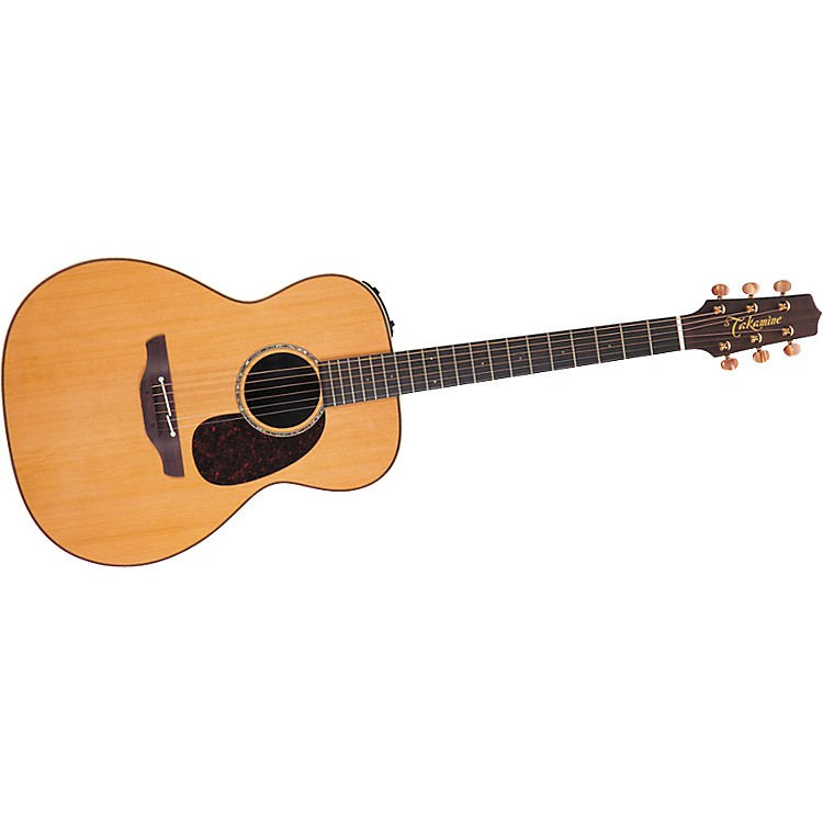TakamineOM TAN77 Koa CTP1 Acoustic-Electric Guitar with Case
