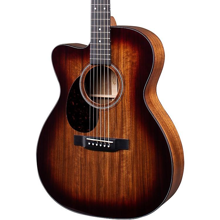 MartinOMC-16E 16 Series Ovangkol Burst Left-Handed Acoustic-Electric GuitarNatural