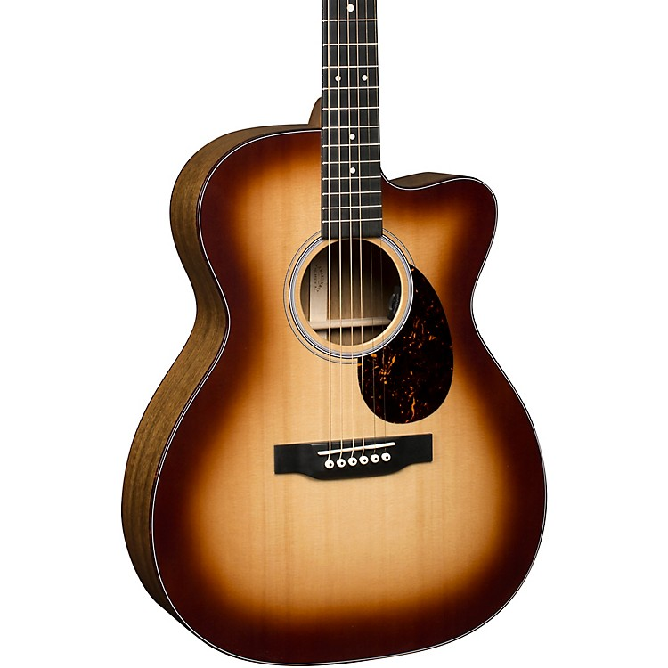 Martin OMC Special Performing Artist Ovangkol Auditorium Acoustic-Electric Guitar Gloss Sunburst