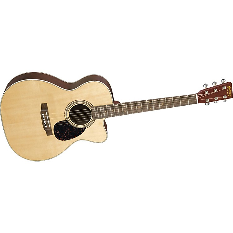 Martin OMCGTE Cherry 000 Cutaway Acoustic Guitar