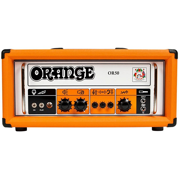 Orange Amplifiers OR50 Tube Guitar Amp Head Orange