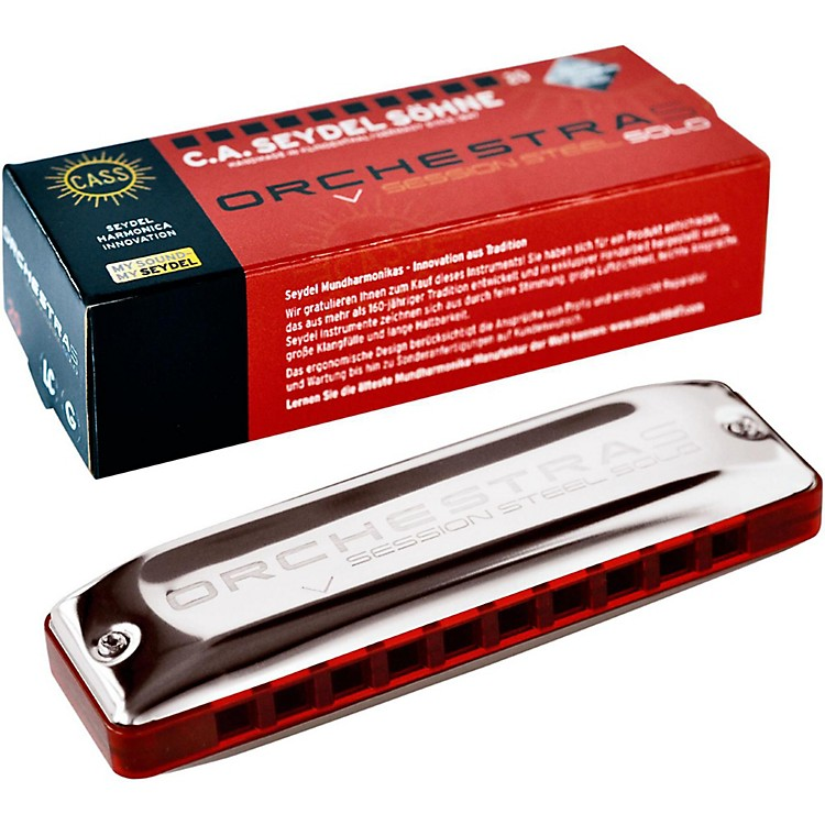 SEYDEL ORCHESTRA S Session Steel Harmonica Key of Low F