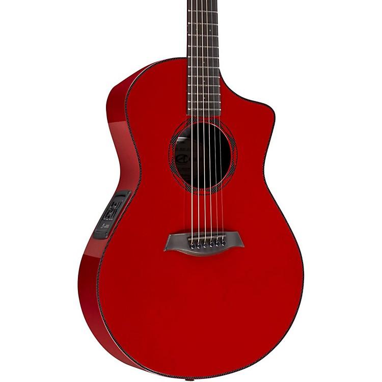 Composite AcousticsOX ELE Carbon Fiber Acoustic GuitarRed